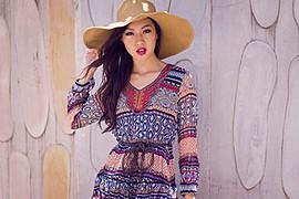 Lisa Ma model. Photoshoot of model Lisa Ma demonstrating Face Modeling.Face Modeling Photo #71427
