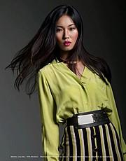 Lisa Ma model. Photoshoot of model Lisa Ma demonstrating Face Modeling.Face Modeling Photo #71434