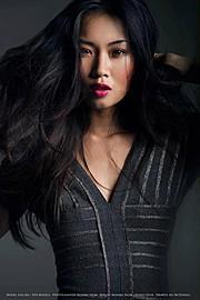 Lisa Ma model. Photoshoot of model Lisa Ma demonstrating Face Modeling.Face Modeling Photo #71435
