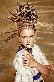 Lola Royle fashion stylist & presenter. styling by fashion stylist Lola Royle.Concept Styling Photo #64376