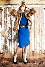 Lola Royle fashion stylist & presenter. styling by fashion stylist Lola Royle.Editorial Styling Photo #64394