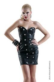 Lora Dimoglou fashion designer (σχεδιαστής μόδας). design by fashion designer Lora Dimoglou.Mini Dress Design Photo #112867