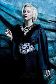 Lora Dimoglou fashion designer (σχεδιαστής μόδας). design by fashion designer Lora Dimoglou.Evening Dress Design Photo #112905