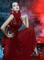 Lora Dimoglou fashion designer (σχεδιαστής μόδας). design by fashion designer Lora Dimoglou.Evening Dress Design Photo #112906