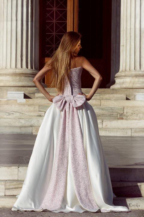 Lora Dimoglou fashion designer (σχεδιαστής μόδας). Modeling work by model Maria Vronskaya.photo: Erika Likotseta make up artist: Petros ZymperWedding Gown Design Photo #112927