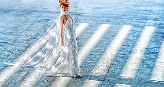 Lora Dimoglou fashion designer (σχεδιαστής μόδας). design by fashion designer Lora Dimoglou.Wedding Gown Design Photo #112930