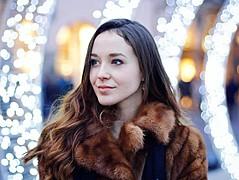 Lorenza Cani model (modella). Photoshoot of model Lorenza Cani demonstrating Face Modeling.EyewearFace Modeling Photo #171123