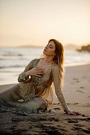 Lucy Samara model (μοντέλο). Photoshoot of model Lucy Samara demonstrating Fashion Modeling.Fashion Modeling Photo #223421
