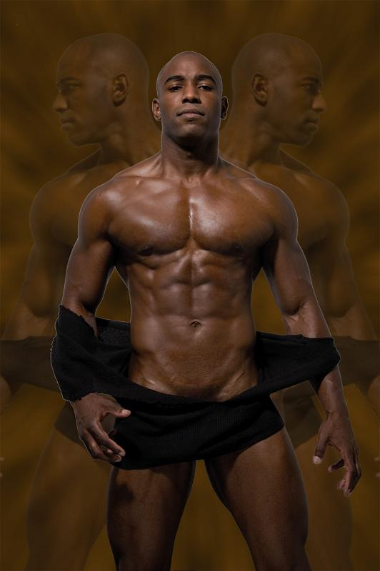Ludwin Walpole model (modèle). Photoshoot of model Ludwin Walpole demonstrating Body Modeling.Body Modeling Photo #73195