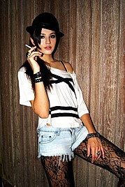 Luiza Linhares model. Photoshoot of model Luiza Linhares demonstrating Fashion Modeling.Fashion Modeling Photo #122531
