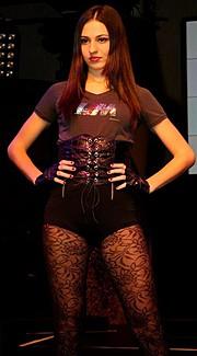 Luiza Linhares model. Photoshoot of model Luiza Linhares demonstrating Runway Modeling.Runway Modeling Photo #122561