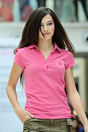 Luiza Linhares model. Photoshoot of model Luiza Linhares demonstrating Runway Modeling.Runway Modeling Photo #122565