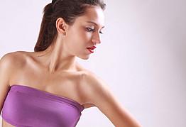 Luiza Linhares model. Photoshoot of model Luiza Linhares demonstrating Face Modeling.Face Modeling Photo #122576