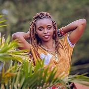 Lydia Njeri model. Photoshoot of model Lydia Njeri demonstrating Face Modeling.Face Modeling Photo #194227
