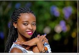 Lydia Njeri model. Photoshoot of model Lydia Njeri demonstrating Face Modeling.Face Modeling Photo #194228