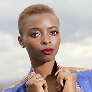 Lydia Njeri model. Photoshoot of model Lydia Njeri demonstrating Face Modeling.Rydah from aftermath agency shootFace Modeling Photo #197023