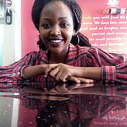 Lydia Wanza model. Photoshoot of model Lydia Wanza demonstrating Face Modeling.Face Modeling Photo #208147