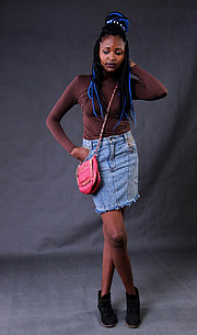 Lydia Wanza model. Photoshoot of model Lydia Wanza demonstrating Fashion Modeling.Fashion Modeling Photo #209598