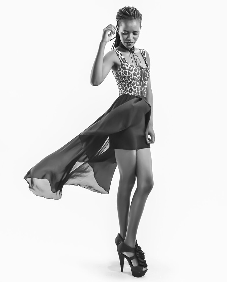 Lynnette Mueni Model