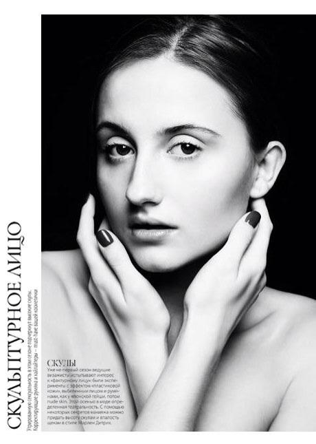 Lyudmila Tkachenko model (Людмила Ткаченко модель). Photoshoot of model Lyudmila Tkachenko demonstrating Face Modeling.Face Modeling Photo #74072