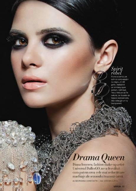Madalina Sinoae model. Photoshoot of model Madalina Sinoae demonstrating Face Modeling.Face Modeling Photo #94600