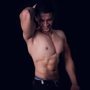 Mahmoud Elshreef model. Photoshoot of model Mahmoud Elshreef demonstrating Body Modeling.Body Modeling Photo #200681