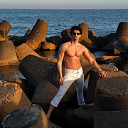 Mahmoud Moustfa model. Modeling work by model Mahmoud Moustfa. Photo #223210