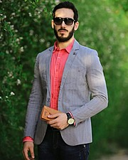 Mahmoud Osama model. Photoshoot of model Mahmoud Osama demonstrating Fashion Modeling.Fashion Modeling Photo #182672
