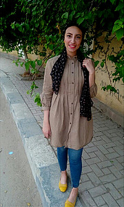 Mai Hisham model. Modeling work by model Mai Hisham. Photo #212043
