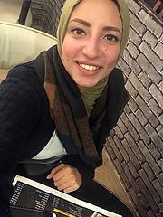 Mai Hisham model. Photoshoot of model Mai Hisham demonstrating Face Modeling.Face Modeling Photo #212101