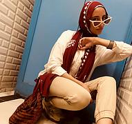 Mai Hisham model. Photoshoot of model Mai Hisham demonstrating Fashion Modeling.Fashion Modeling Photo #225307