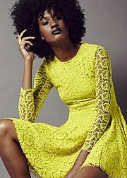 Mala Guthrie model. Photoshoot of model Mala Guthrie demonstrating Face Modeling.Face Modeling Photo #102511