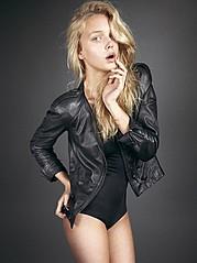 Malgosia Guzowska model (modelka). Photoshoot of model Malgosia Guzowska demonstrating Fashion Modeling.Tear SheetFashion Modeling Photo #105029