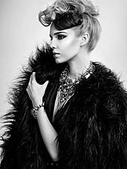 Malgosia Guzowska model (modelka). Photoshoot of model Malgosia Guzowska demonstrating Face Modeling.Face Modeling Photo #105050