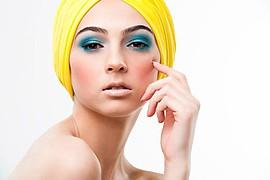 Mallory Mcgowan makeup artist. Work by makeup artist Mallory Mcgowan demonstrating Beauty Makeup.Head ScarfBeauty Makeup Photo #57547