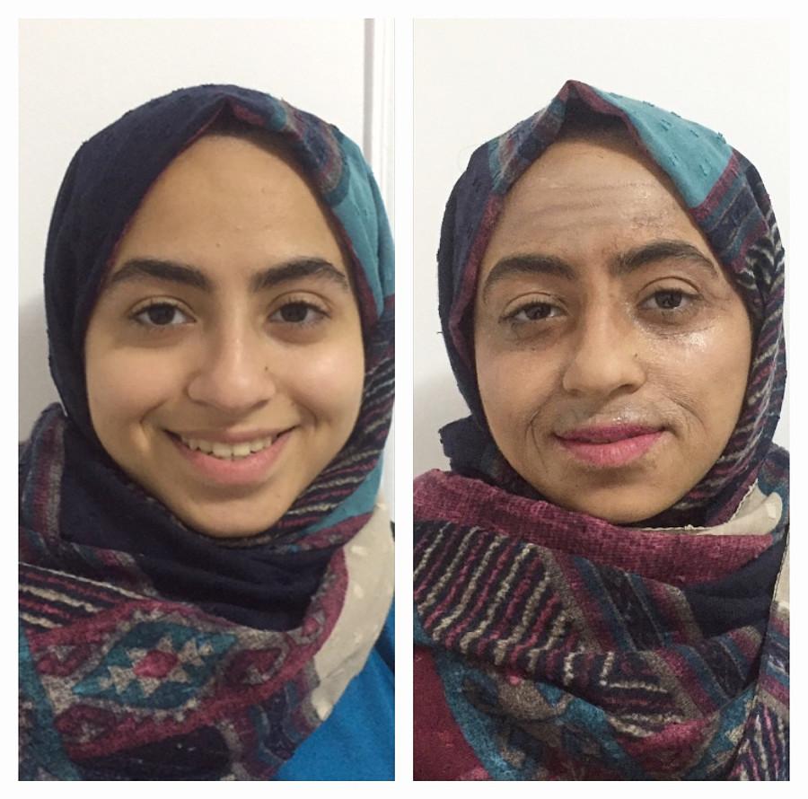 Manar Mohamed special effects makeup artist. Work by makeup artist Manar Mahmoud demonstrating Creative Makeup.Horror Film SFXCreative Makeup Photo #204884