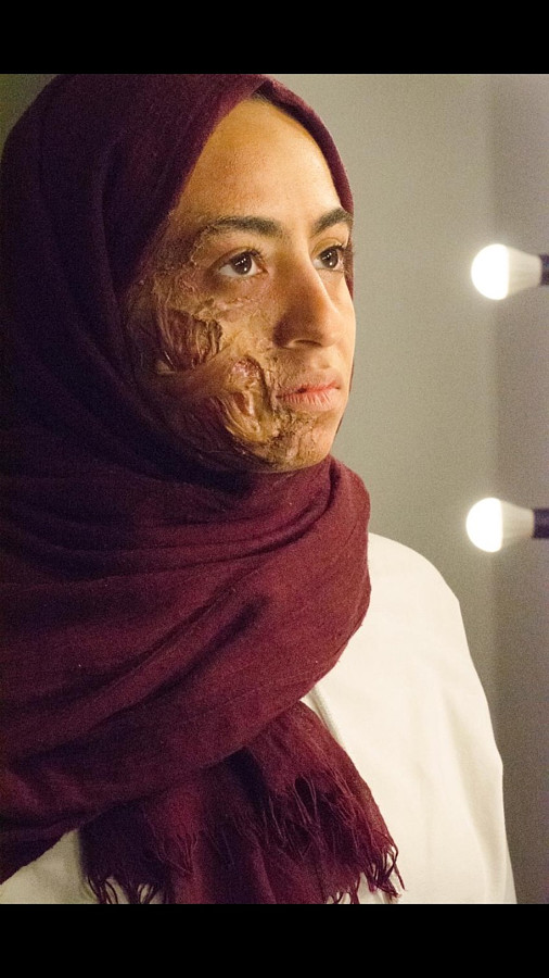 Manar Mohamed special effects makeup artist. makeup by makeup artist Manar Mohamed.Horror Film SFX Photo #203919