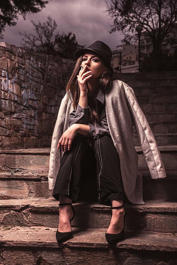 Mantha Papaioannou model (μοντέλο). Photoshoot of model Mantha Papaioannou demonstrating Fashion Modeling.Fashion Modeling Photo #219956