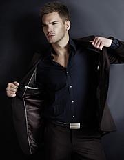 Marc Spring model. Photoshoot of model Marc Spring demonstrating Fashion Modeling.Fashion Modeling Photo #73817
