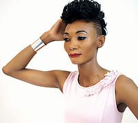 Margaret Chabinga model. Photoshoot of model Margaret Chabinga demonstrating Face Modeling.Face Modeling Photo #208454