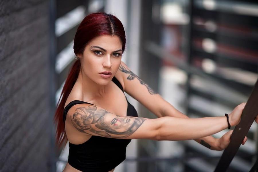 Margarita Fotiadou model (μοντέλο). Photoshoot of model Margarita Fotiadou demonstrating Face Modeling.Face Modeling Photo #183513
