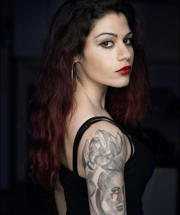 Margarita Fotiadou model (μοντέλο). Photoshoot of model Margarita Fotiadou demonstrating Face Modeling.Face Modeling Photo #183586