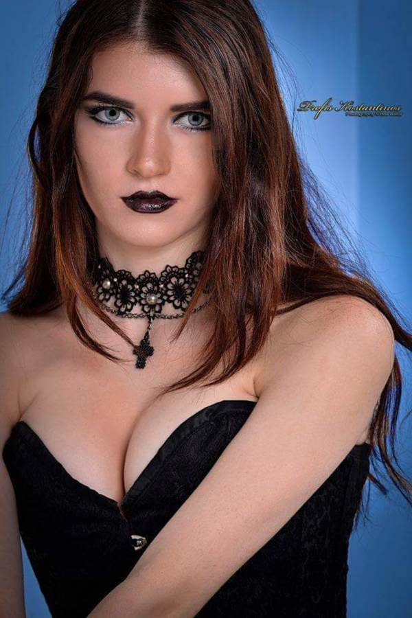 Maria Charitou model (Μαρία Χαρίτου μοντέλο). Photoshoot of model Maria Charitou demonstrating Face Modeling.Face Modeling Photo #192523