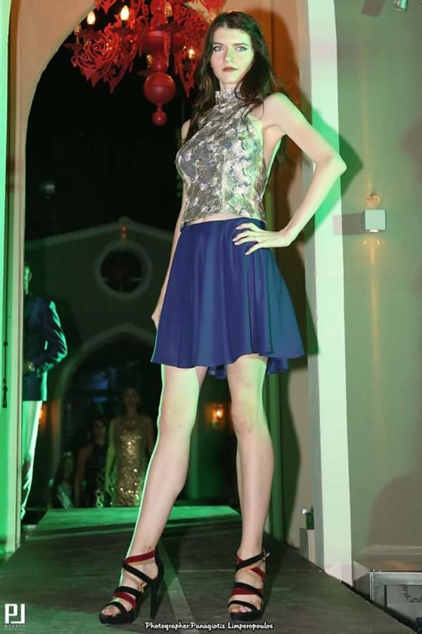 Maria Charitou model (Μαρία Χαρίτου μοντέλο). Maria Charitou demonstrating Runway Modeling, in a photoshoot by Panagiotis Limperopoulos.photographer: Panagiotis LimperopoulosRunway Modeling Photo #195423