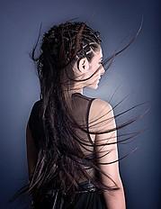 Maria Dretaki hair stylist (Μαρία Δρετάκη κομμωτής). Work by hair stylist Maria Dretaki demonstrating Fashion Hair Styling.Fashion Hair Styling Photo #187035