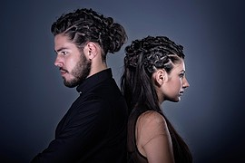 Maria Dretaki hair stylist (Μαρία Δρετάκη κομμωτής). Work by hair stylist Maria Dretaki demonstrating Fashion Hair Styling.Fashion Hair Styling Photo #187036