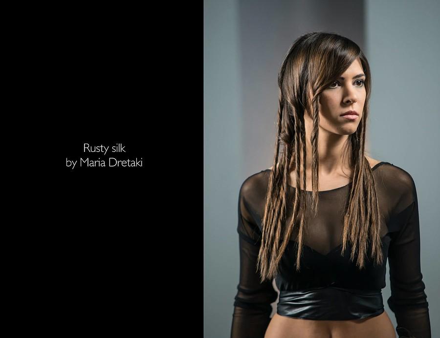 Maria Dretaki hair stylist (Μαρία Δρετάκη κομμωτής). Work by hair stylist Maria Dretaki demonstrating Fashion Hair Styling.Fashion Hair Styling Photo #187057