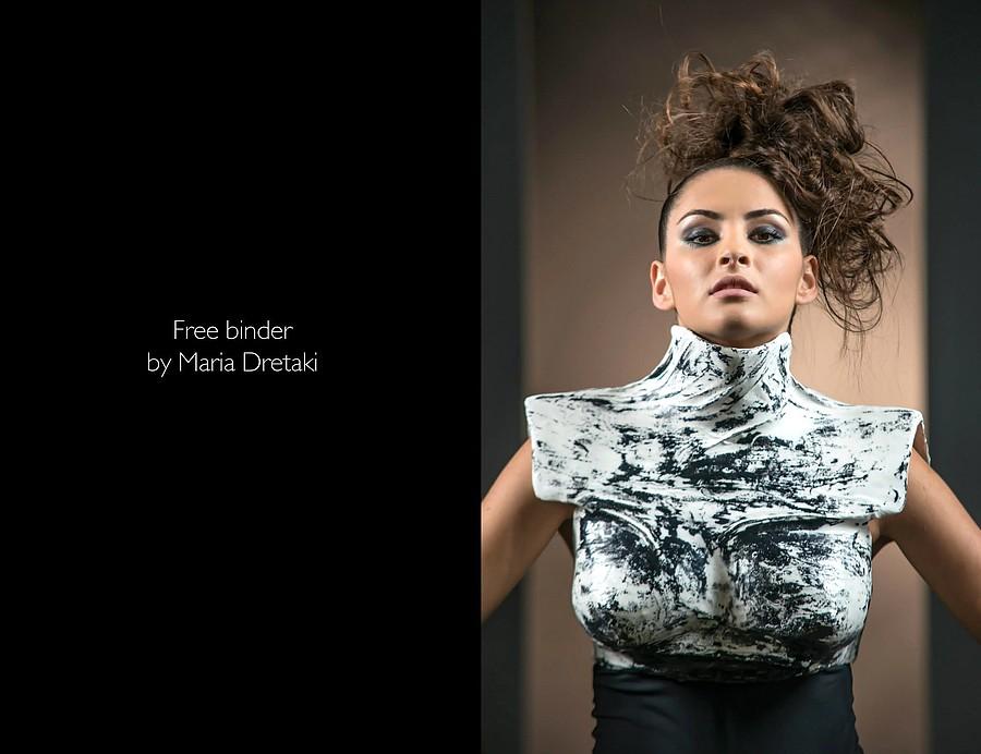 Maria Dretaki hair stylist (Μαρία Δρετάκη κομμωτής). Work by hair stylist Maria Dretaki demonstrating Fashion Hair Styling.Fashion Hair Styling Photo #187058