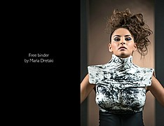 Maria Dretaki hair stylist (Μαρία Δρετάκη κομμωτής). Work by hair stylist Maria Dretaki demonstrating Fashion Hair Styling.Fashion Hair Styling Photo #187060