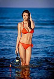 Maria Elena Monego model (modella). Photoshoot of model Maria Elena Monego demonstrating Body Modeling.Body Modeling Photo #135236